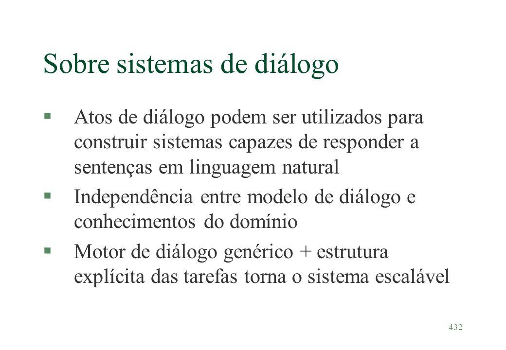 Sobre sistemas de diálogo