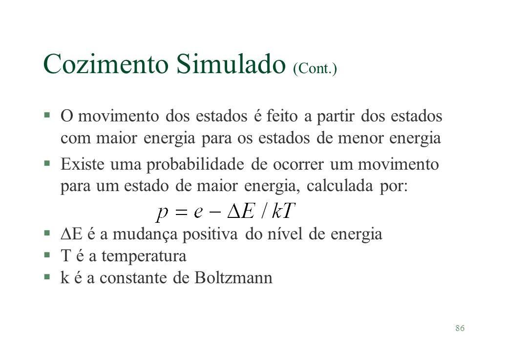 Cozimento Simulado (Cont.)
