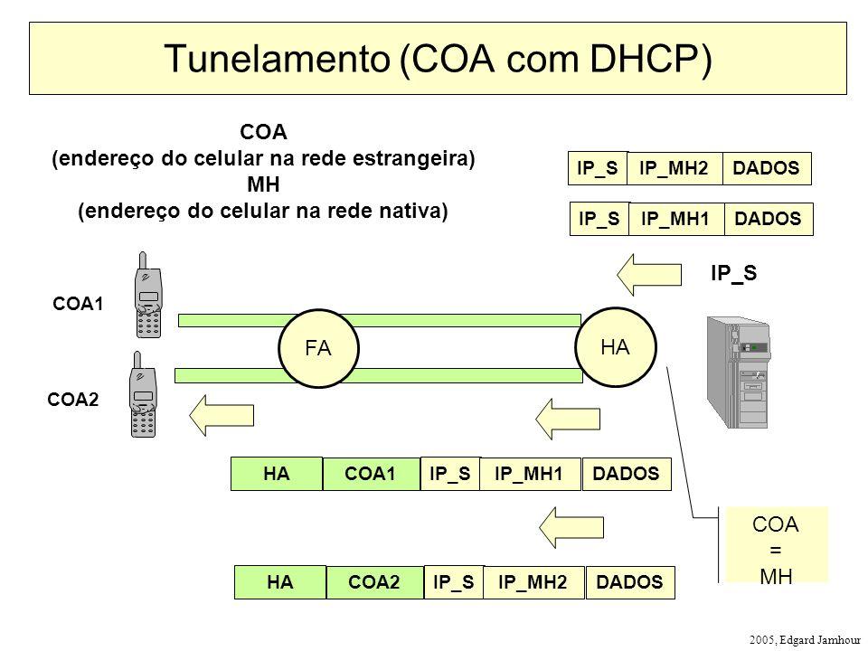 Tunelamento (COA com DHCP)