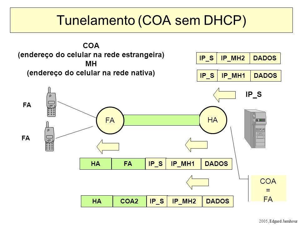 Tunelamento (COA sem DHCP)