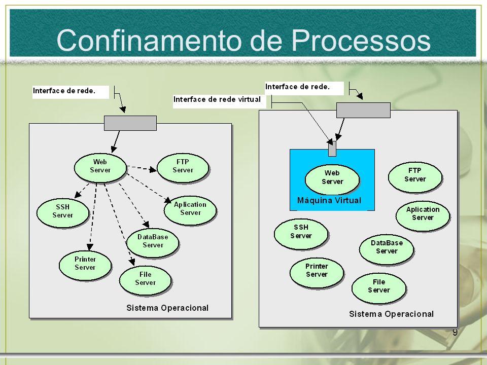 Confinamento de Processos