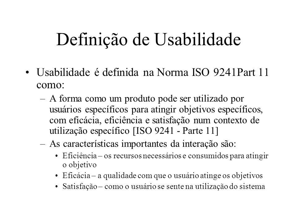 Definição de Usabilidade