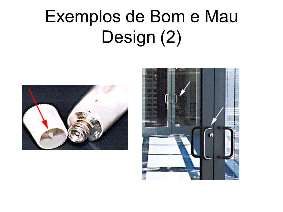 Exemplos de Bom e Mau Design (2)