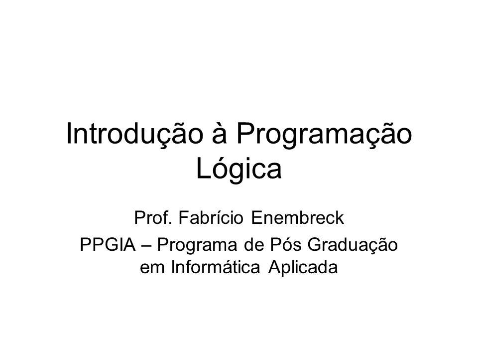 Introdução à Programação Lógica