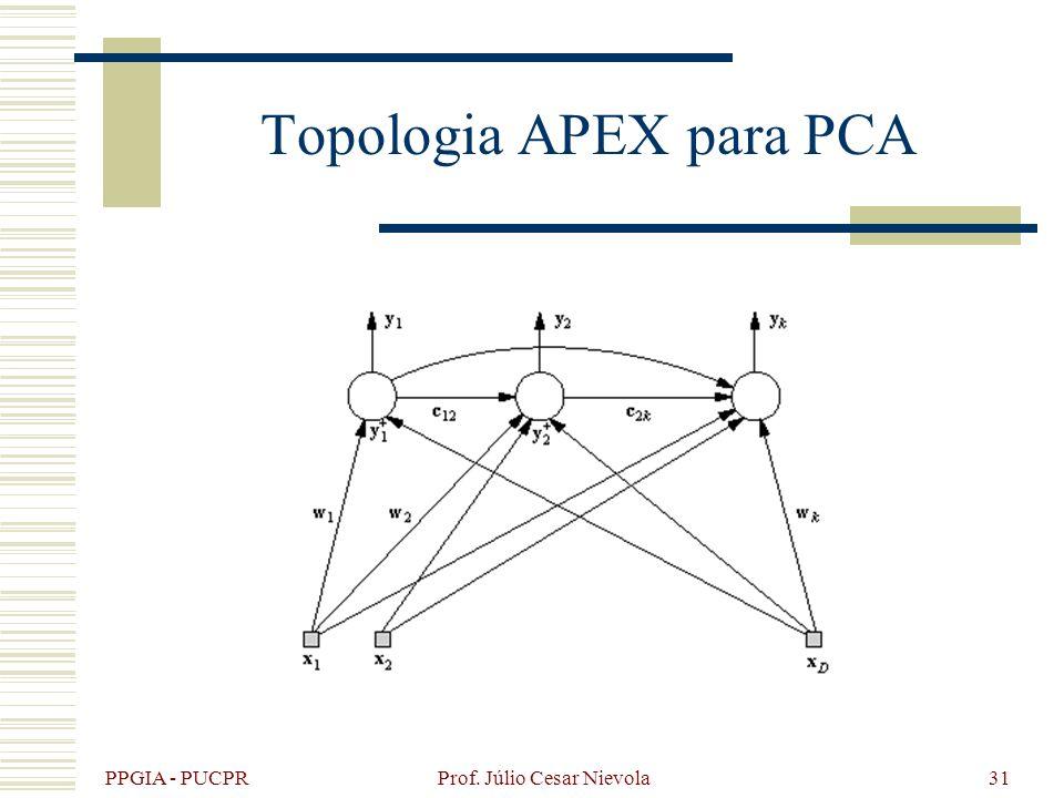 Topologia APEX para PCA