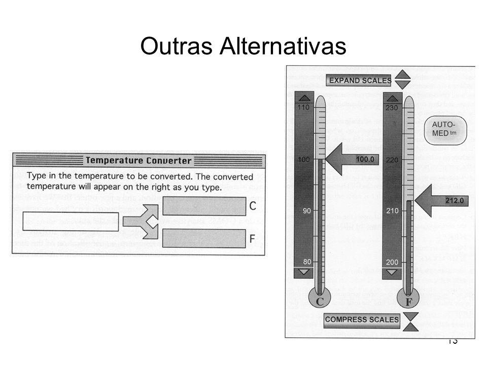 Outras Alternativas