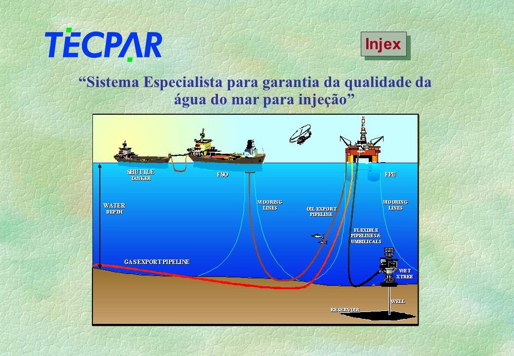 Injex Sistema Especialista para garantia da qualidade da água do mar para injeção