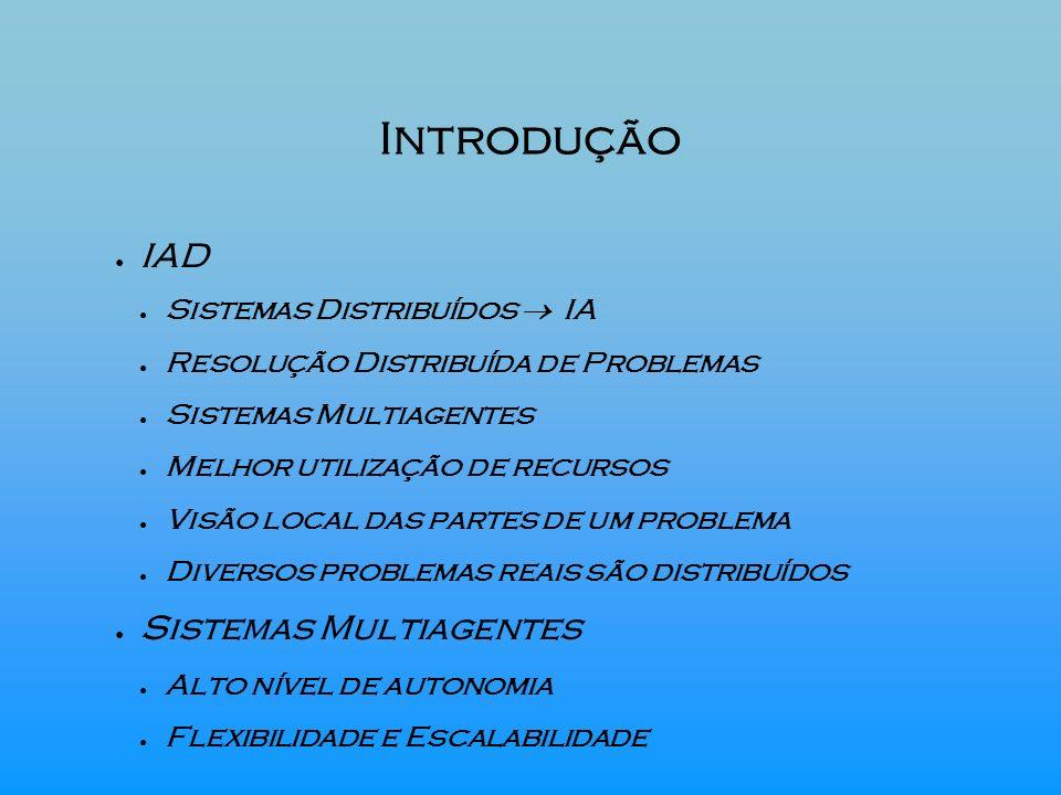 Introdução IAD Sistemas Distribuídos  IA