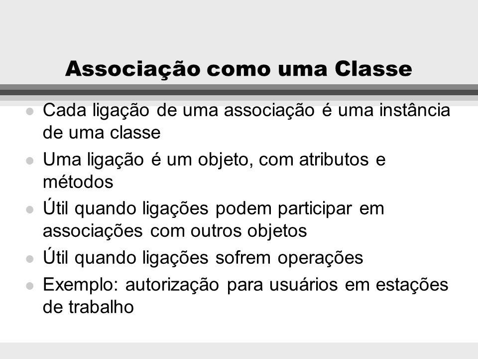 Associação como uma Classe