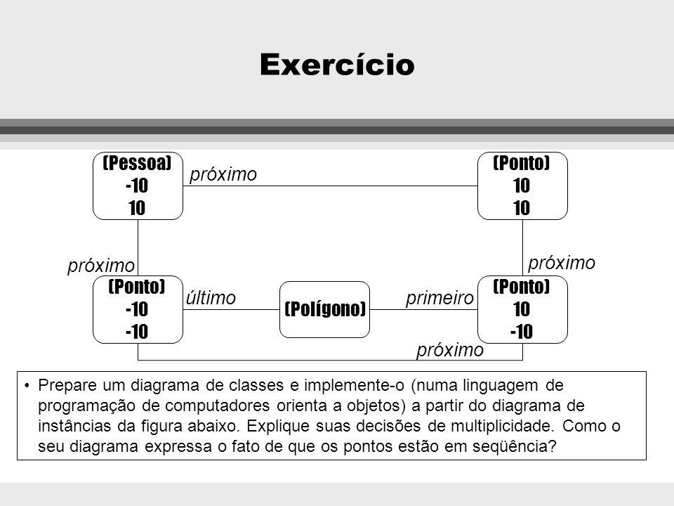 Exercício (Pessoa) -10 10 (Ponto) 10 próximo próximo próximo (Ponto)