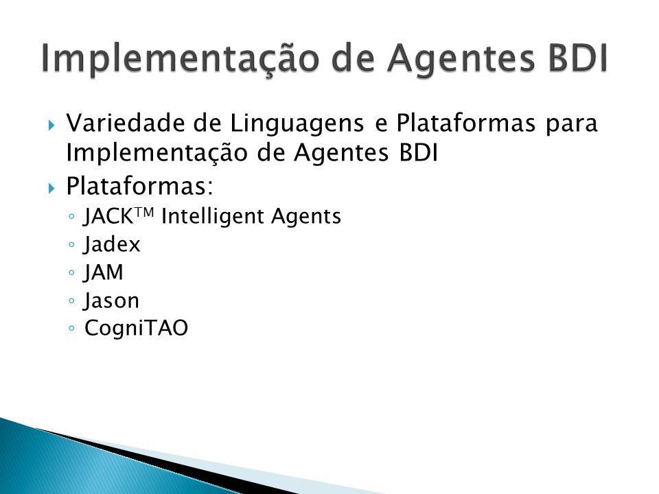 Implementação de Agentes BDI