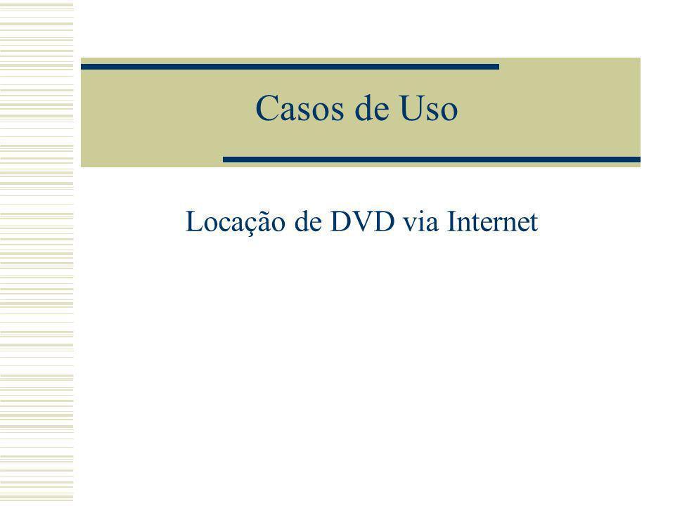 Locação de DVD via Internet