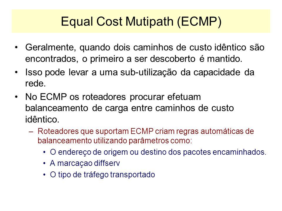 Equal Cost Mutipath (ECMP)