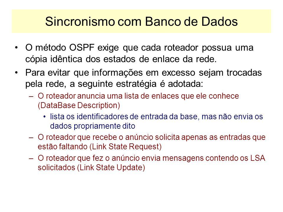 Sincronismo com Banco de Dados