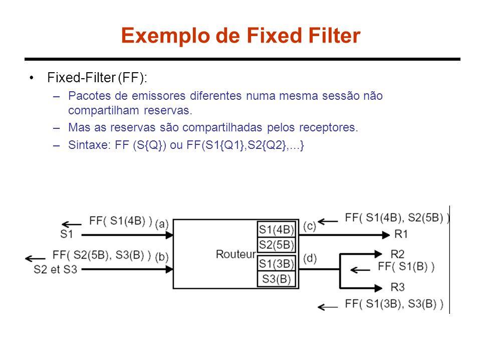 Exemplo de Fixed Filter