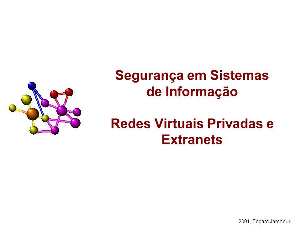 Segurança em Sistemas de Informação Redes Virtuais Privadas e Extranets