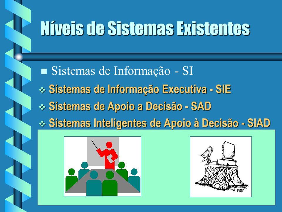 Níveis de Sistemas Existentes