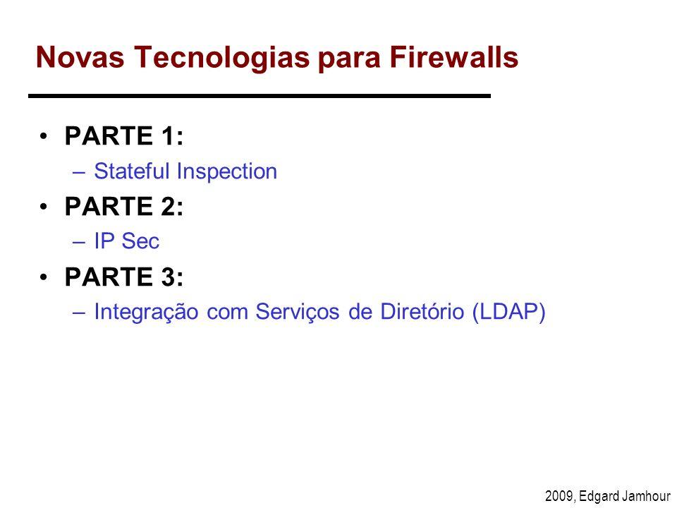 Novas Tecnologias para Firewalls