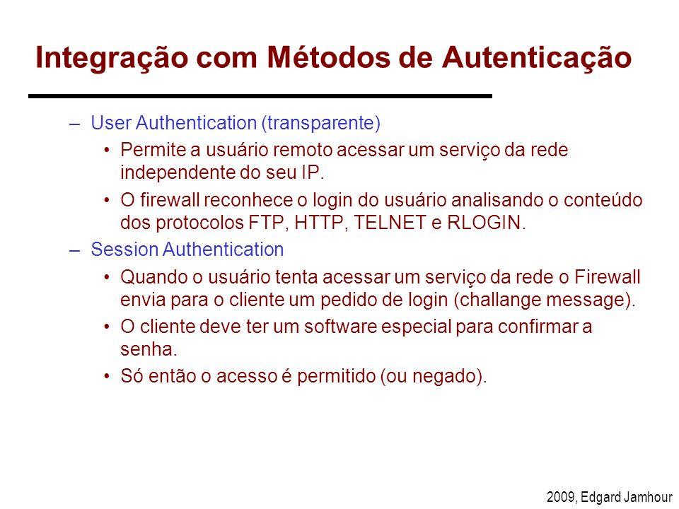Integração com Métodos de Autenticação