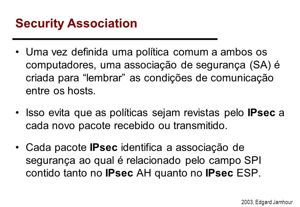 Security Association