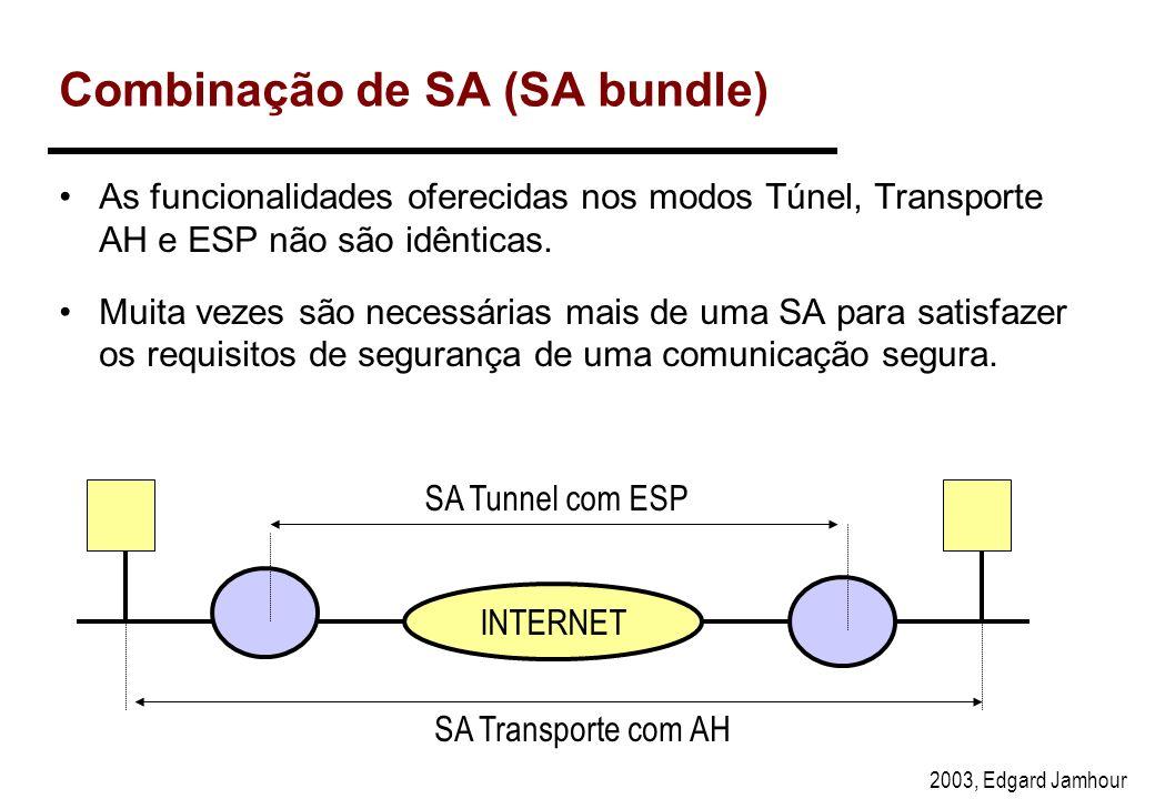 Combinação de SA (SA bundle)