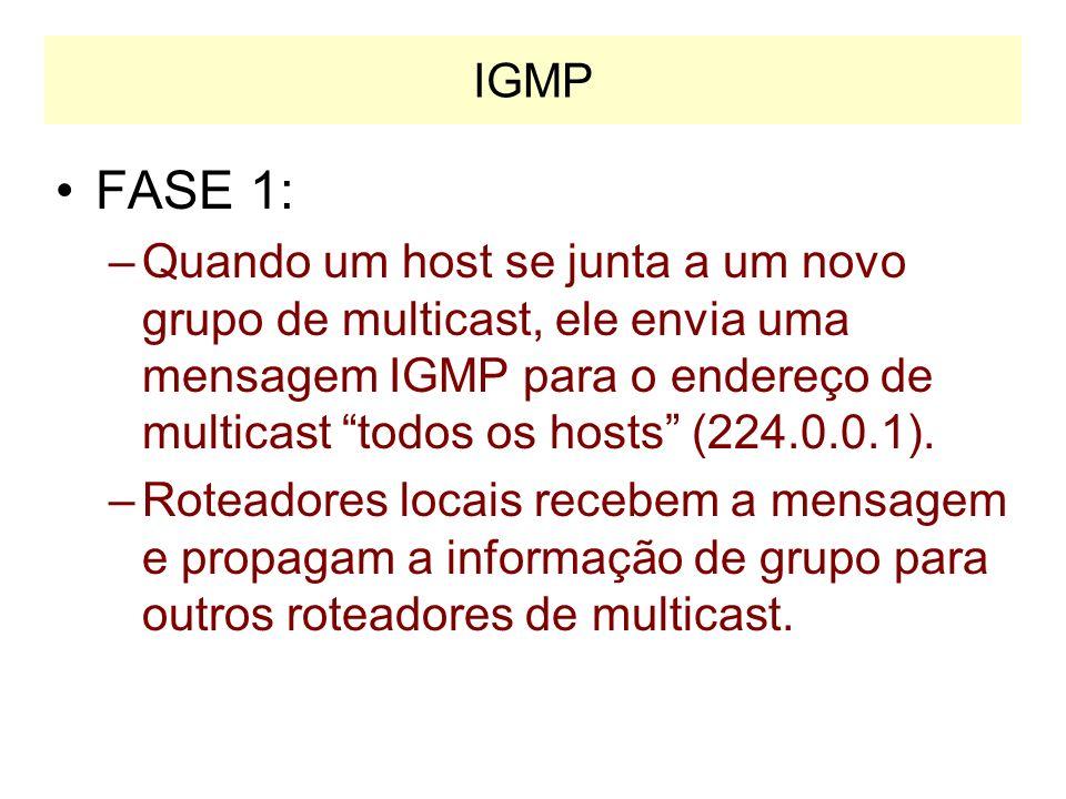 IGMP FASE 1: