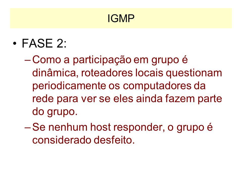 IGMP FASE 2: