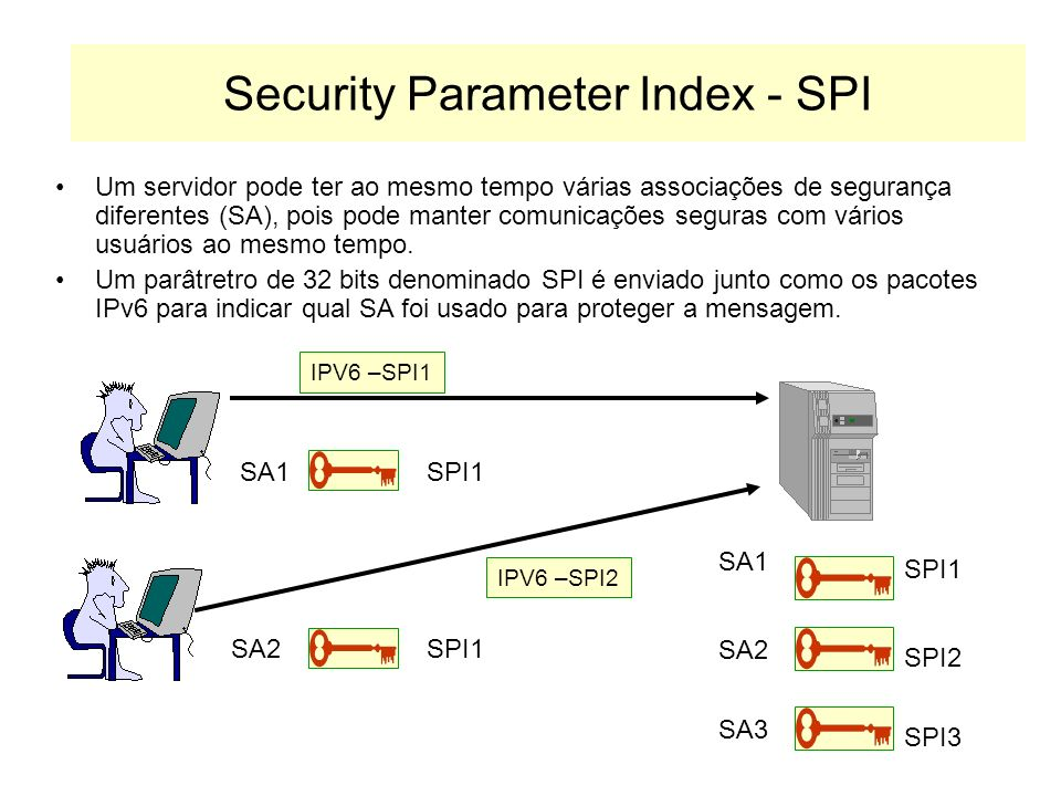 Security Parameter Index - SPI