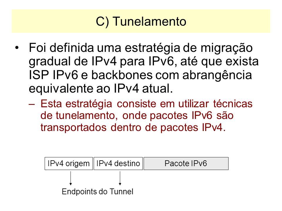 C) Tunelamento