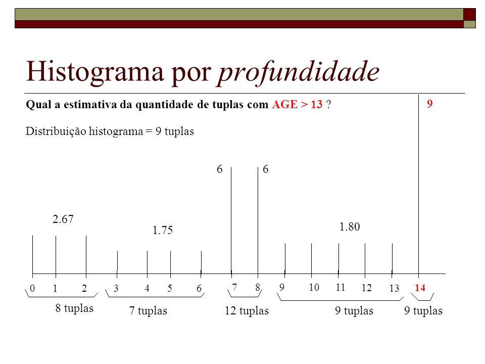 Histograma por profundidade