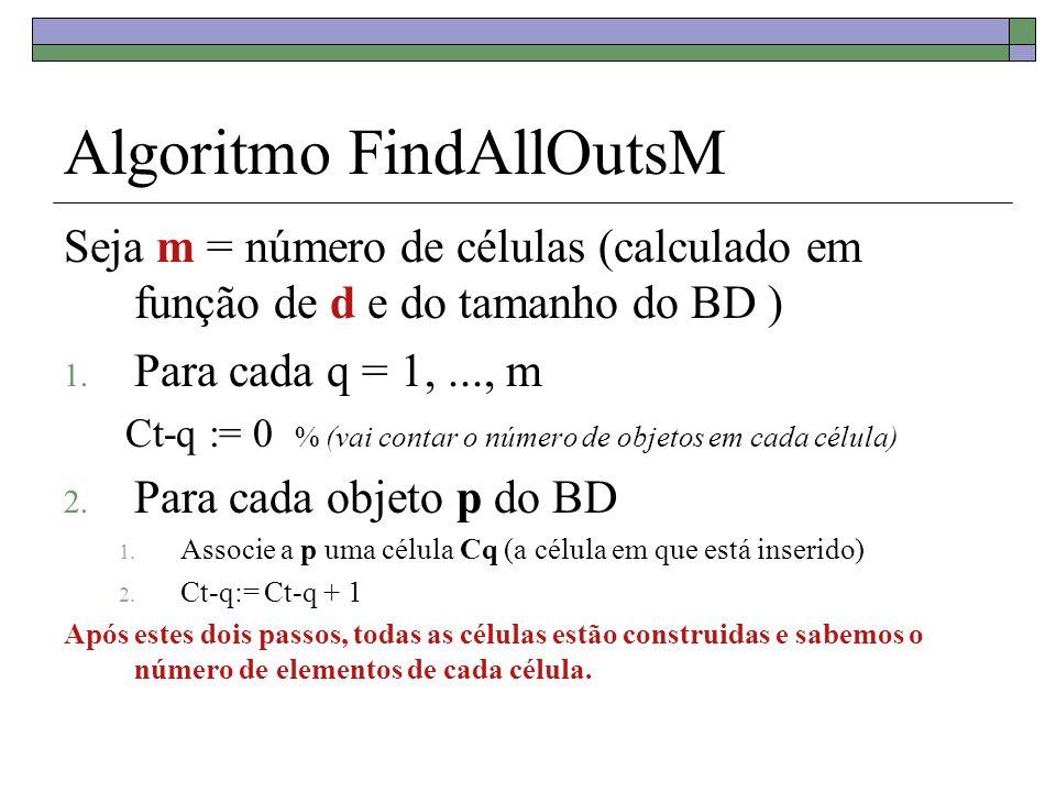 Algoritmo FindAllOutsM