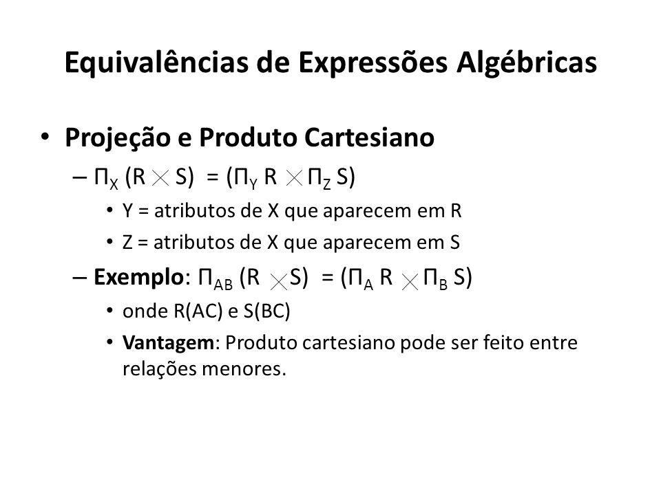 Equivalências de Expressões Algébricas
