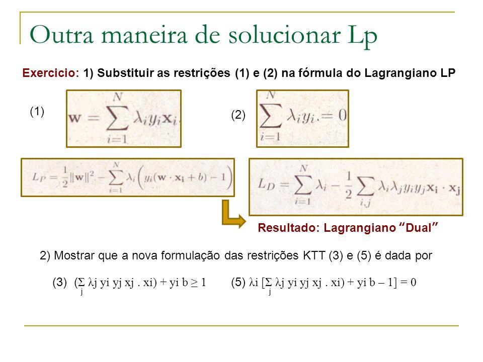 Outra maneira de solucionar Lp