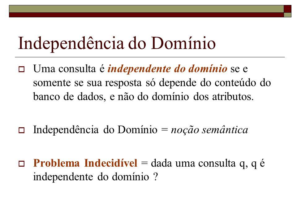 Independência do Domínio