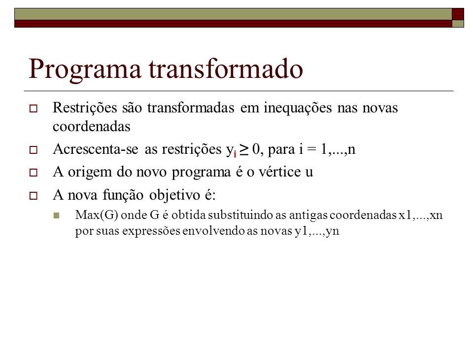 Programa transformado