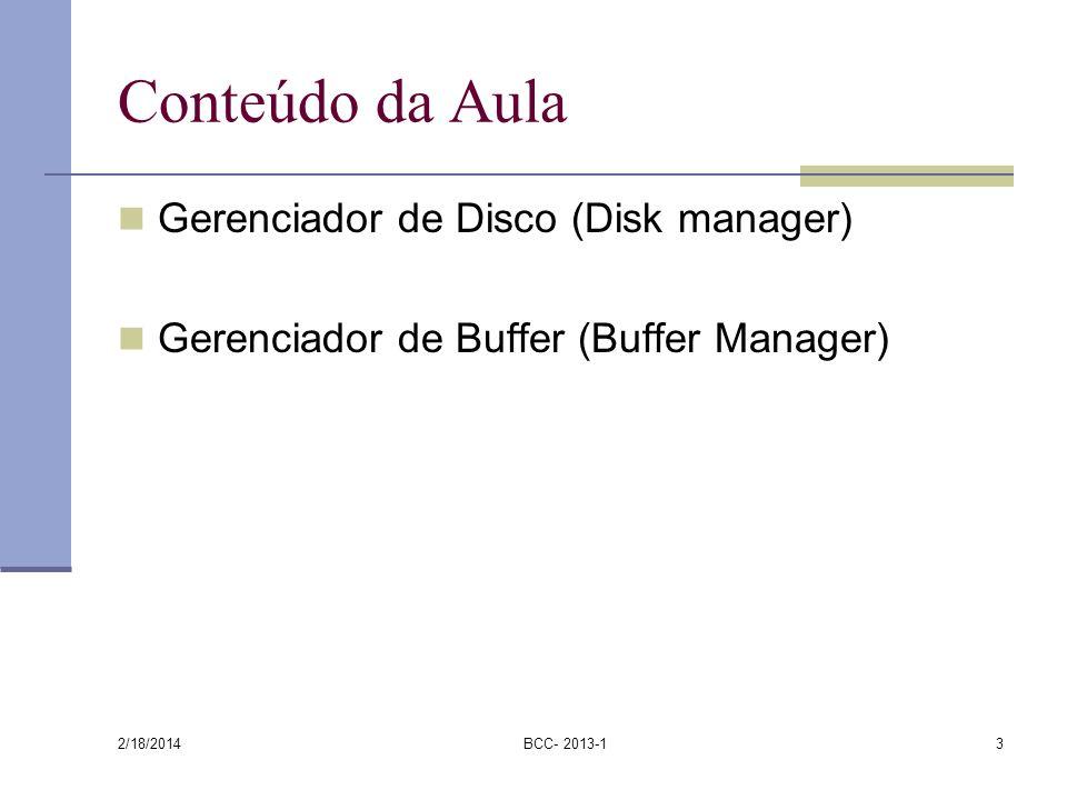 Conteúdo da Aula Gerenciador de Disco (Disk manager)