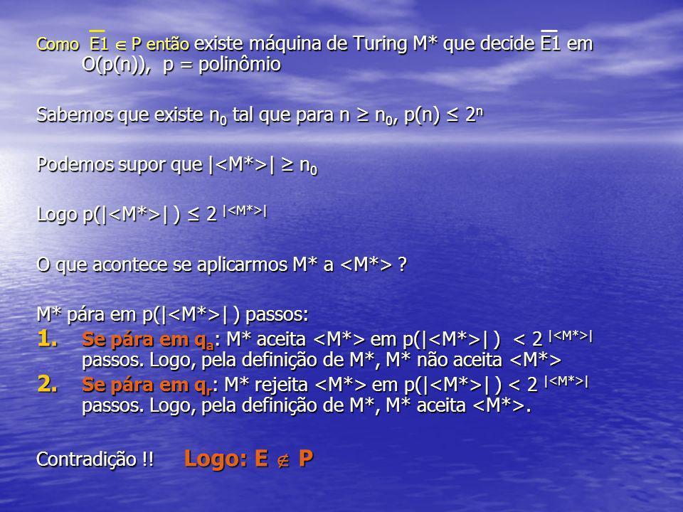 Sabemos que existe n0 tal que para n ≥ n0, p(n) ≤ 2n