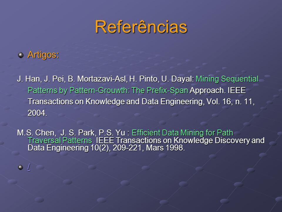 Referências Artigos: