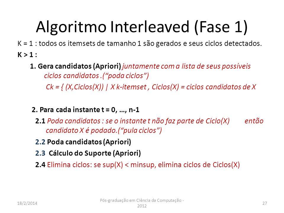 Algoritmo Interleaved (Fase 1)