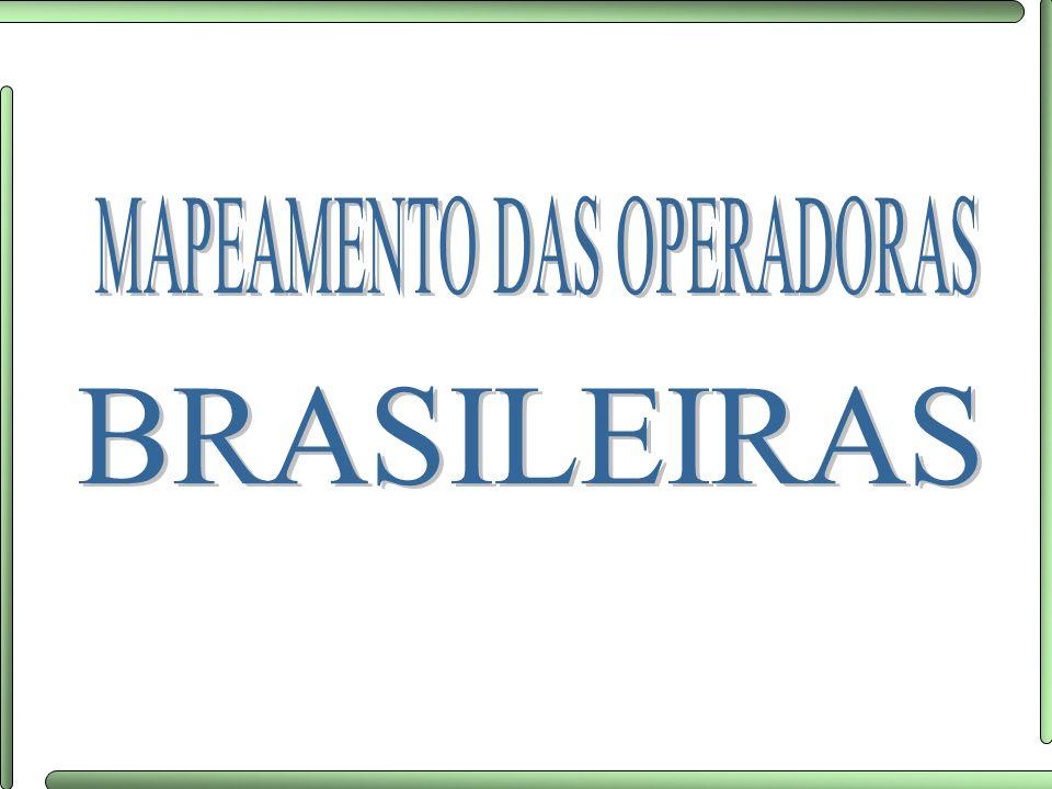 MAPEAMENTO DAS OPERADORAS