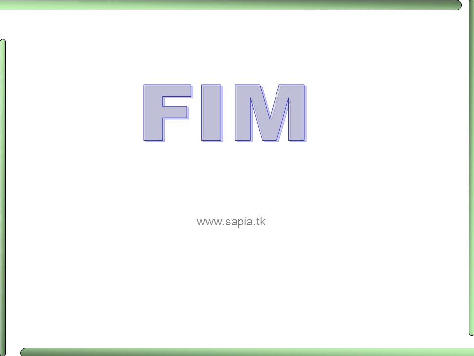 FIM www.sapia.tk