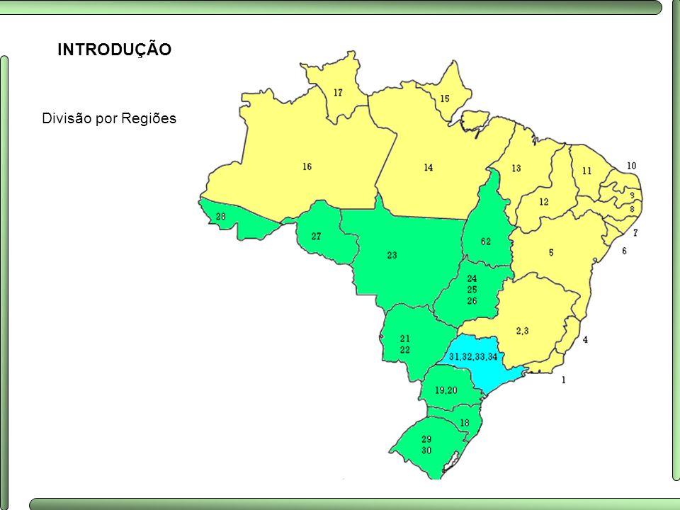 INTRODUÇÃO Divisão por Regiões