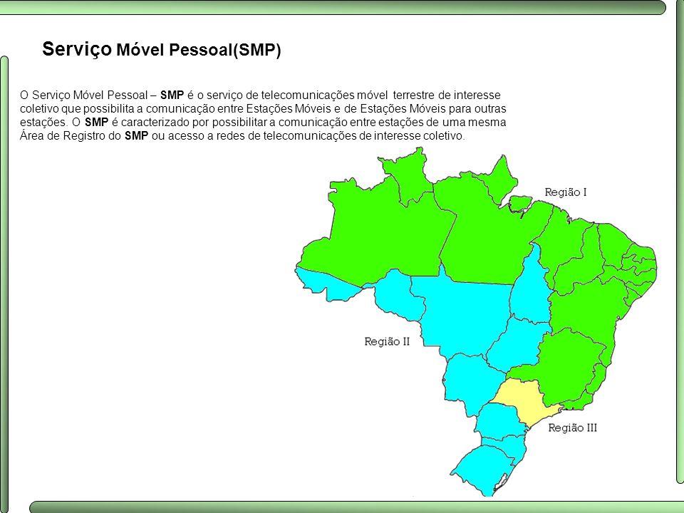 Serviço Móvel Pessoal(SMP)