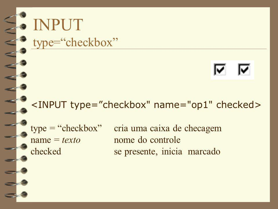 INPUT type= checkbox
