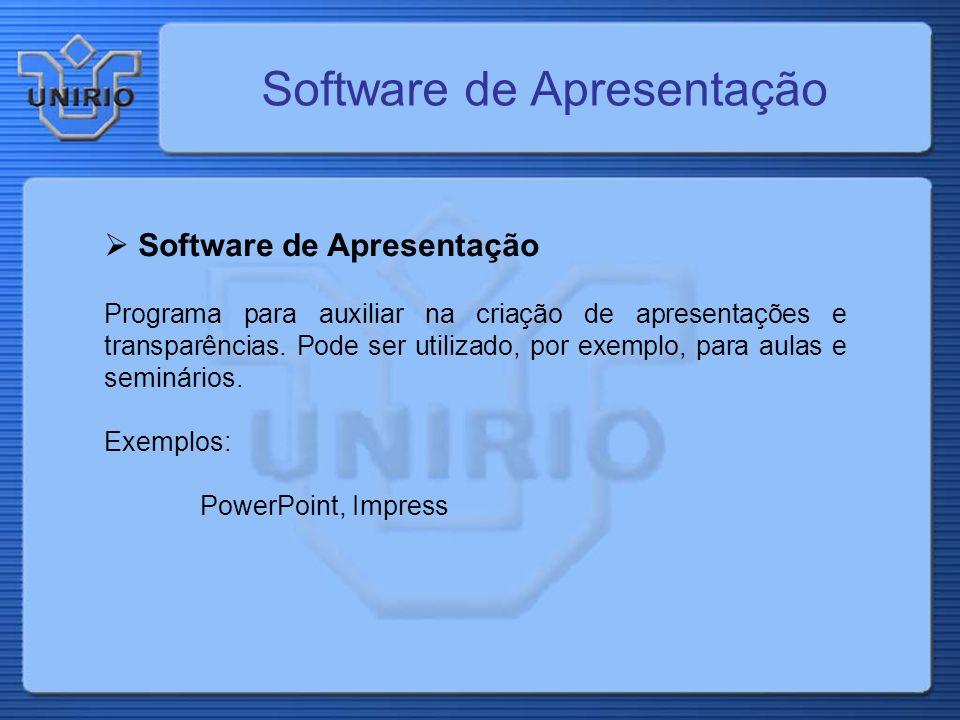 Software de Apresentação