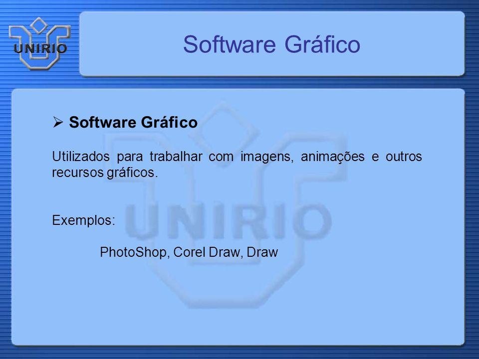 Software Gráfico Software Gráfico
