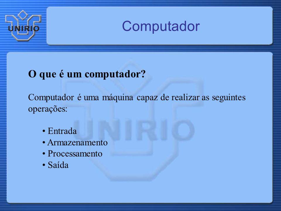 Computador O que é um computador