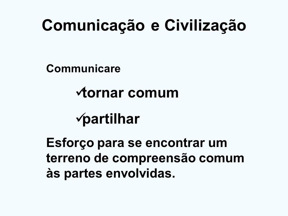 Comunicação e Civilização