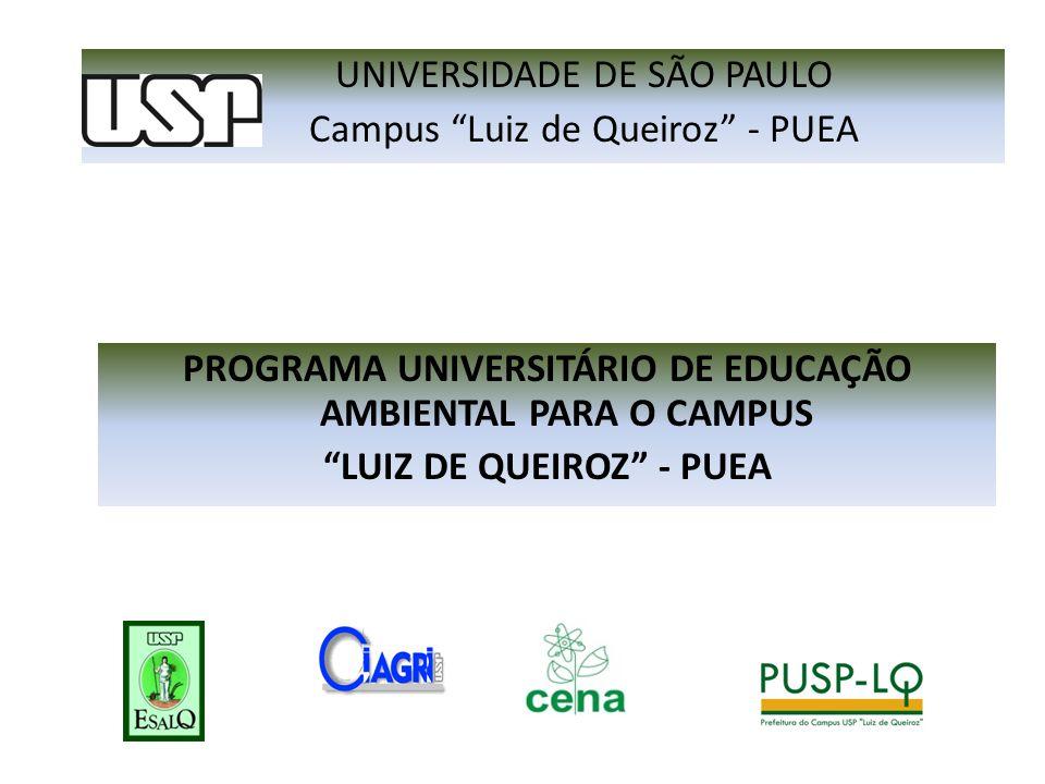 UNIVERSIDADE DE SÃO PAULO Campus Luiz de Queiroz - PUEA