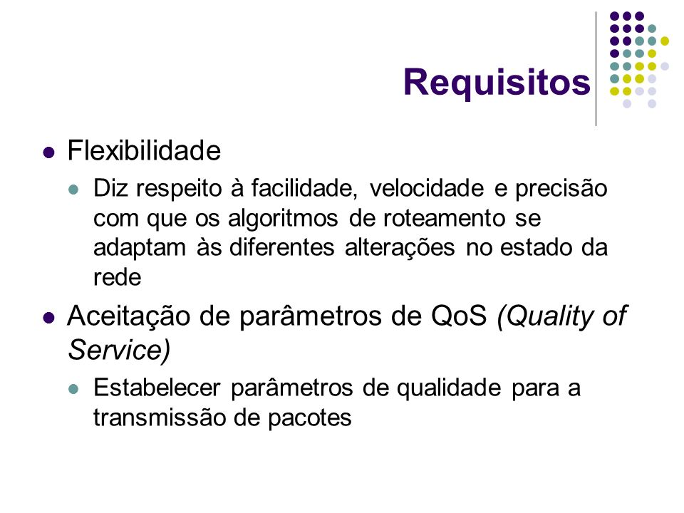 Requisitos Flexibilidade